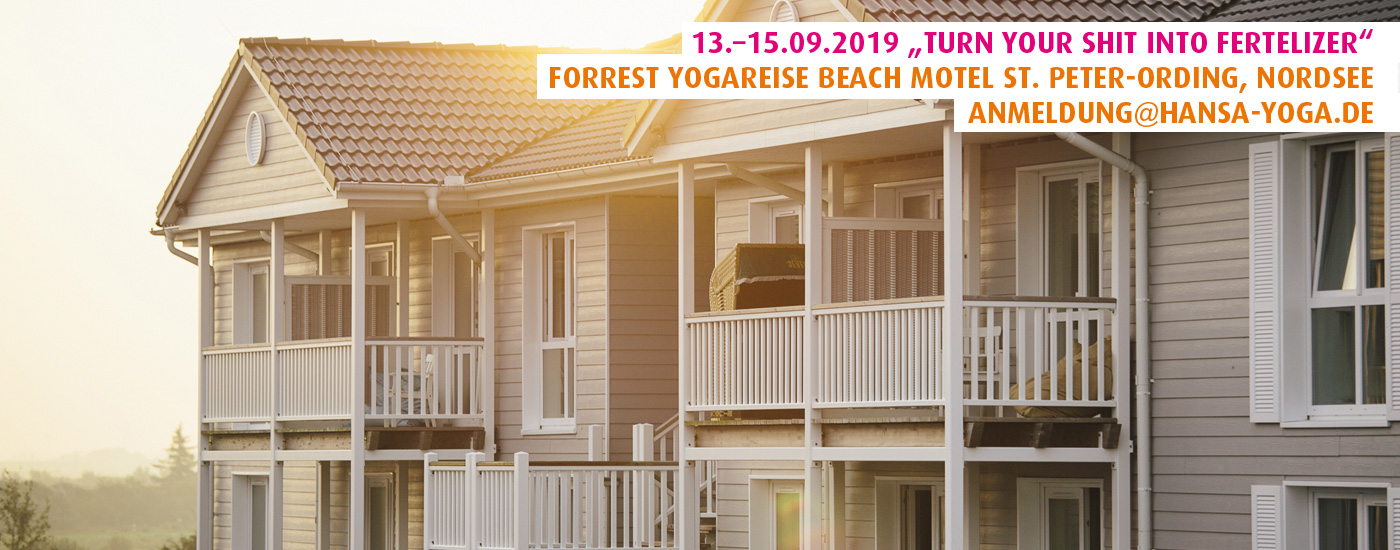 Forrest Yogareise Retreat September 2019 Beach Motel St. Peter-Ording