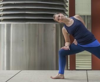 Hansa Yoga, Katharina Rodewald, Forrest Yoga ® Extended Warrior Variation