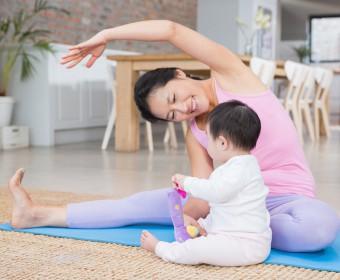 Forrest Yoga für Mama mit Baby bei Hansa Yoga mit Katharina in Hamburg Barmbek, Winterhude