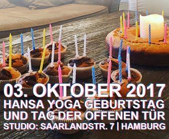 Hansa Yogastudio Geburtstag, Tag der offenen Tür, Forrest Yoga, Pilates