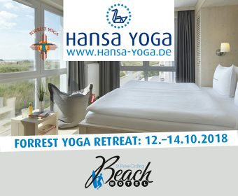 Forrest Yoga Retreat Yogareise Beach Motel St. Peter-Ording Nordsee Yogaretreat Retreat Oktober 2018