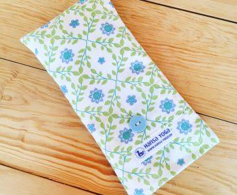 Hansa Yoga Bio Augenkissen Lavendel Leinsamen Planten un blomen