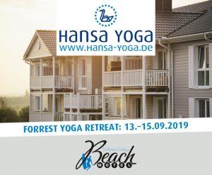 Forrest Yogareise Yogawochenende Beach Motel SPO St. Peter-Ording Nordsee September 2019