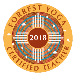 Forrest Yoga Certified Teacher Logo 2018