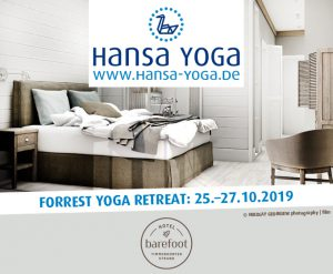 Forrest Yogareise Yogawochenende Til Schweiger Barefoot Hotel Timmendorfer Strand Ostsee Oktober 2019