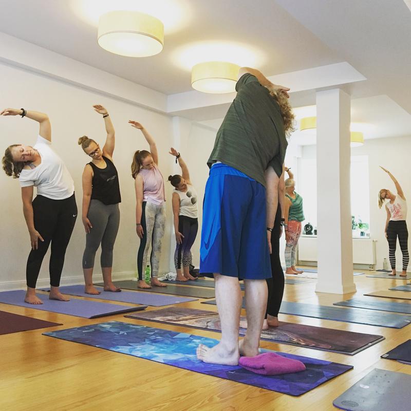 Hansa Yoga: Lange Yoganacht Hamburg 2019