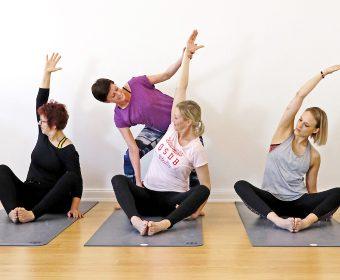 Ute Simons Hatha Yoga Yin und Yang Präventionskurs Gesundheitskurs Hansa Yoga Hamburg Winterhude