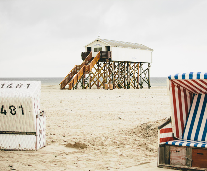 Beach Motel St. Peter-Ording, Nordsee Strand