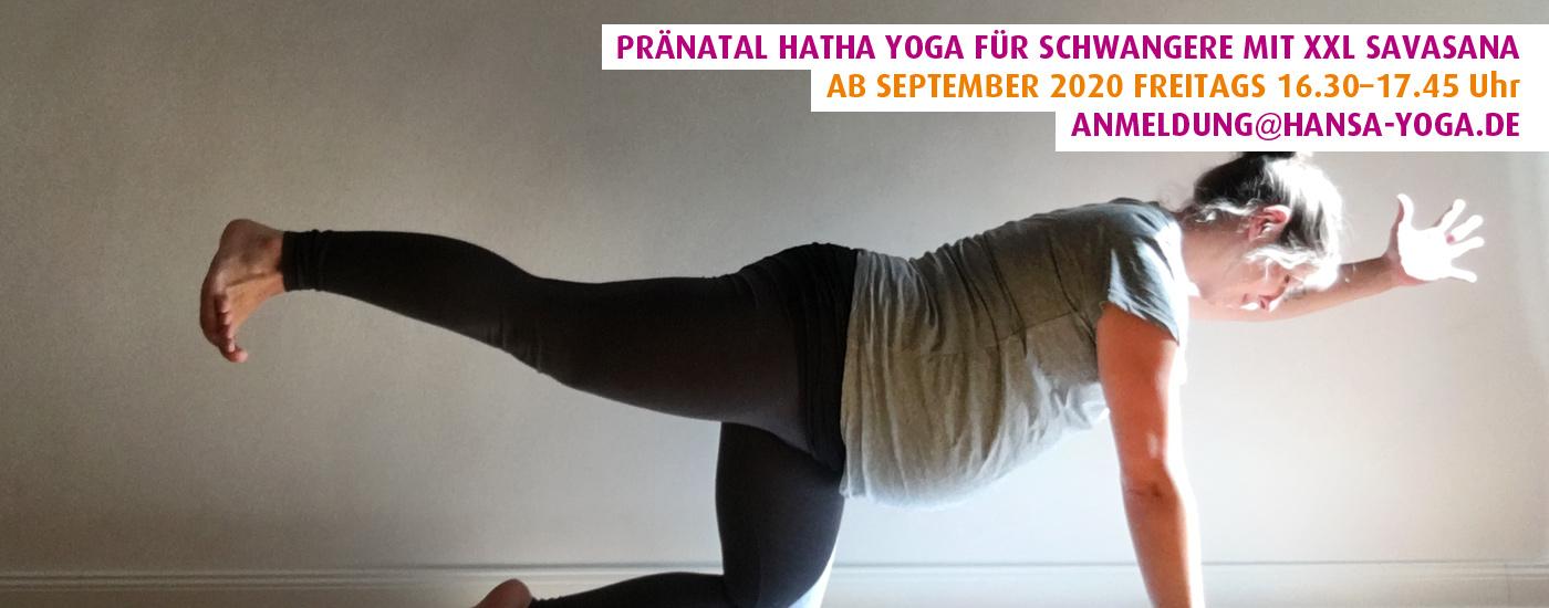 Pränatal Hatha Yoga für Schwangere September 2020 Winterhude Hamburg