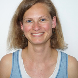 Hansa Yogalehrerin Katja Hartmann